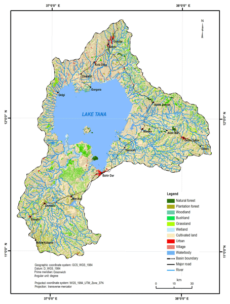 ESSD - Mapping the vegetation of the Lake Tana basin