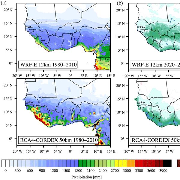 ESSD - The WASCAL high-resolution regional climate simulation