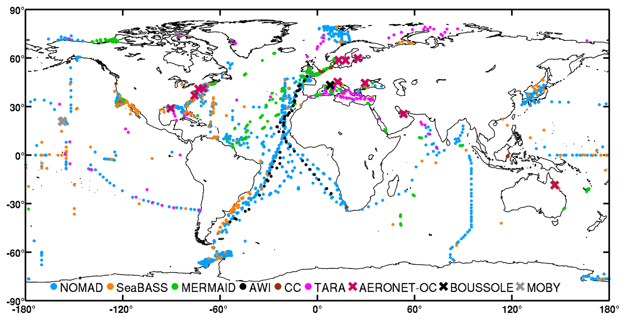 ESSD - A compilation of global bio-optical in situ data for ocean