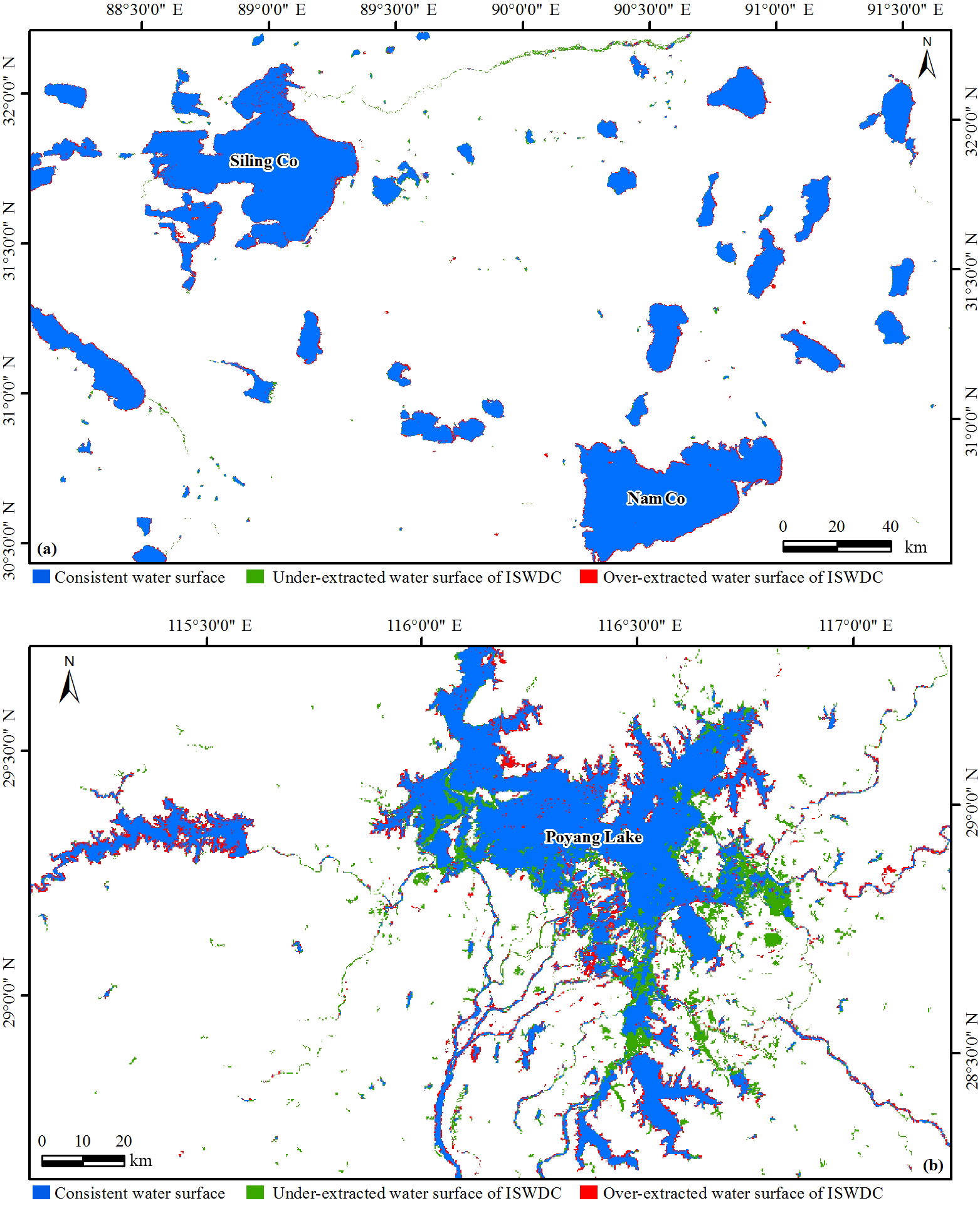 ESSD - Time series of the Inland Surface Water Dataset in