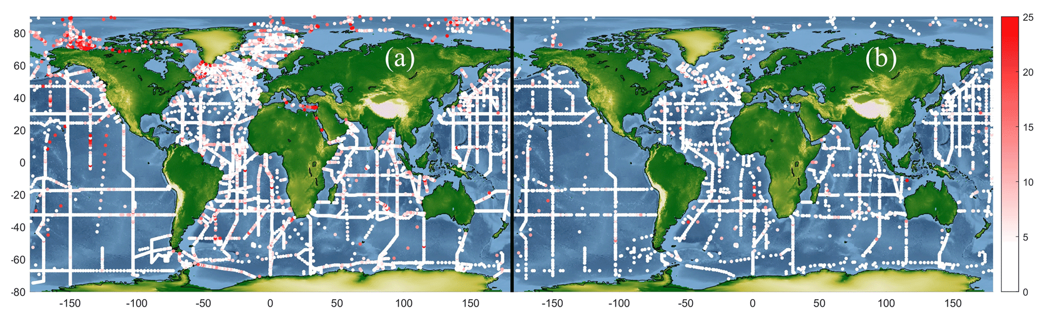 ESSD - A global monthly climatology of total alkalinity: a neural