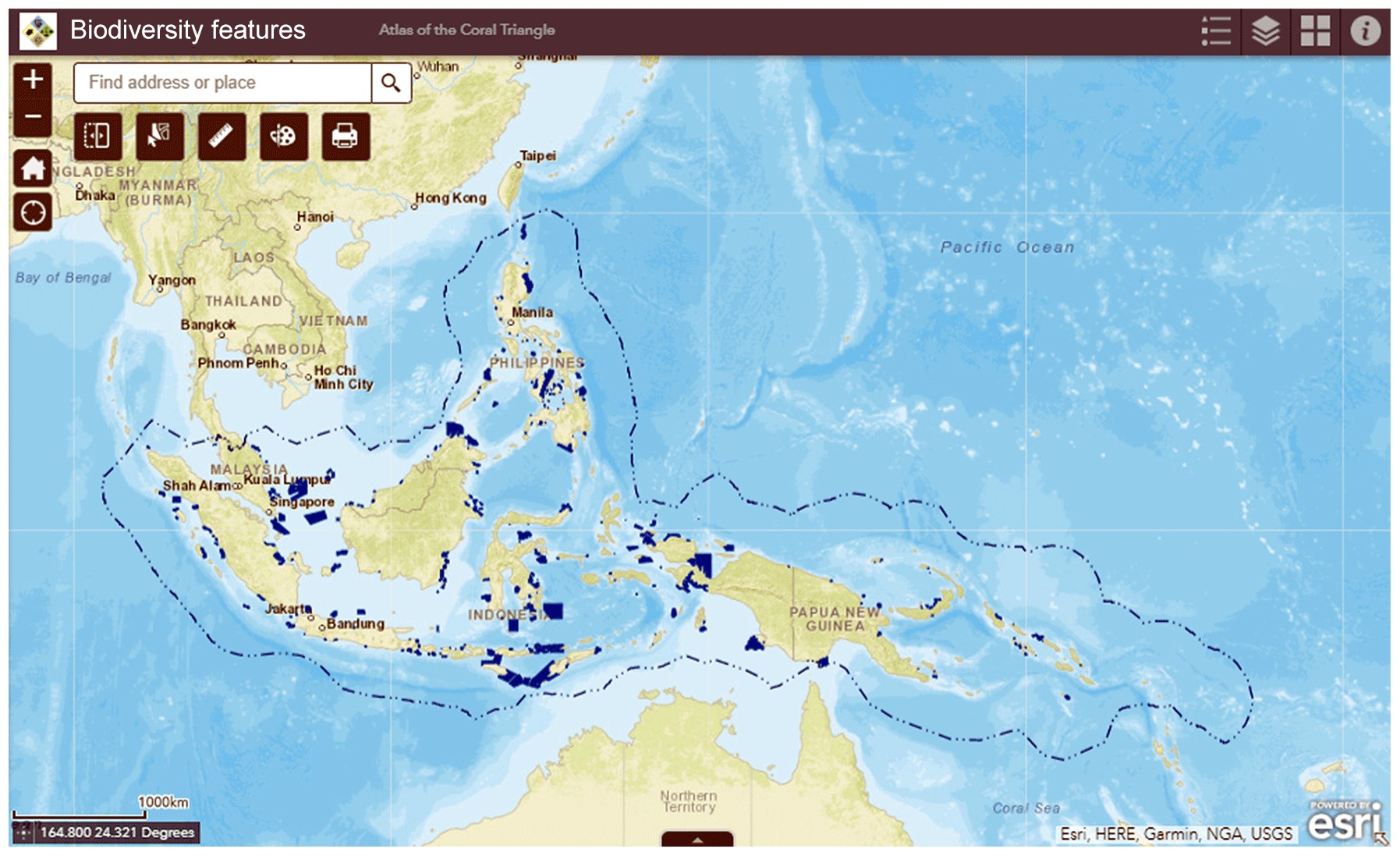 ESSD - An interactive atlas for marine biodiversity conservation in