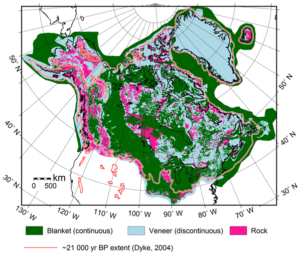 ESSD - Geology datasets in North America, Greenland and