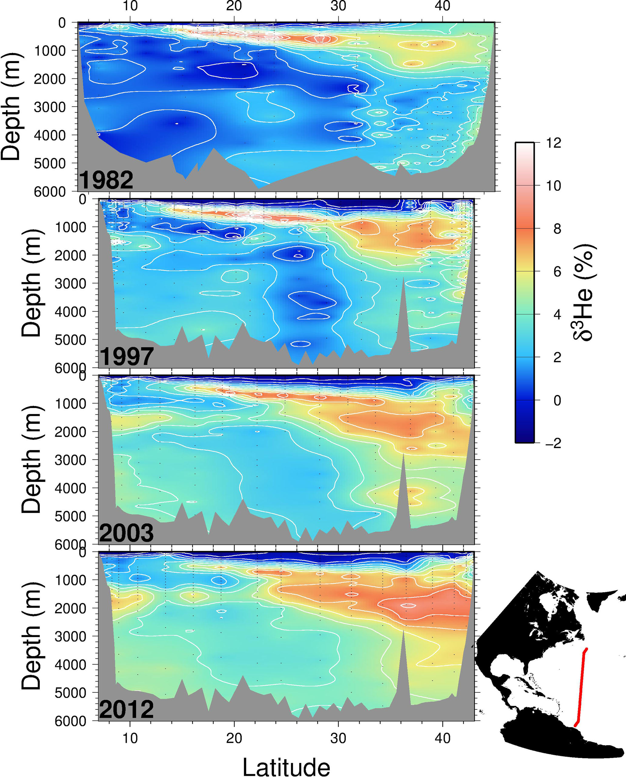 ESSD - A comprehensive global oceanic dataset of helium