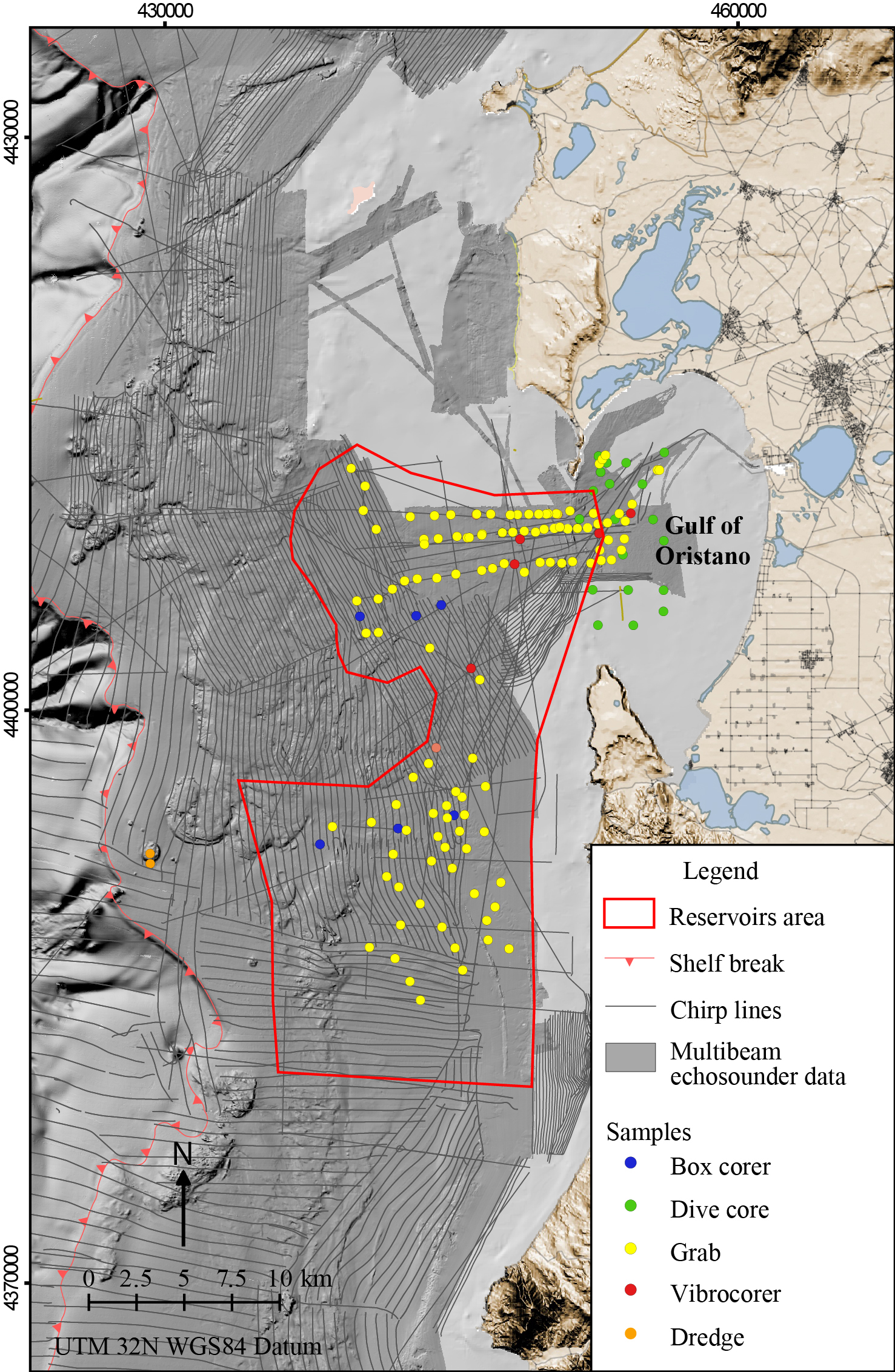 ESSD Data Set Of Submerged Sand Deposits Organised In An